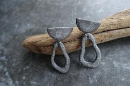 """burari"" ceramic pierce / earrings"