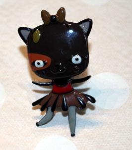 bouton de commode chat danseuse étoile