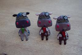 Bouton de commode hippopotame