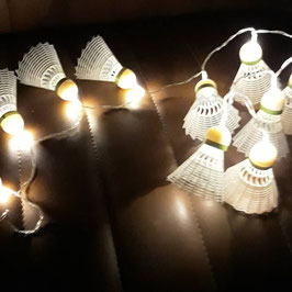 guirlande lumineuse badminton