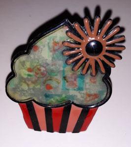 bouton de commode cupcake