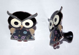 bouton de commode hibou en robe