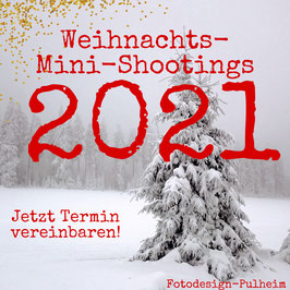 Anzahlung Weihnachts-Mini-Shooting 2021
