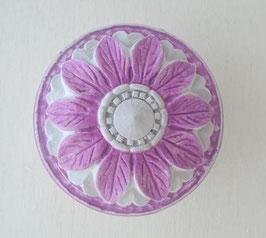 花模様の丸型