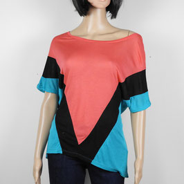 S & W FASHION TOP tricolore