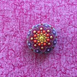 Mandala-Stein Orient Traum II