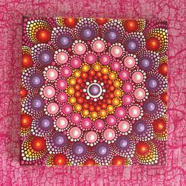 Mandala Wunderblume