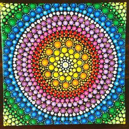 Mandala Regenbogen 10cm