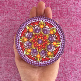 Mandala Blume des Orient 10cm rund