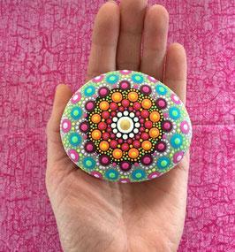 Mandala-Stein Woodstock