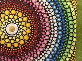 Mandala Regenbogen 15cm