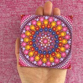 Mandala Farbenpracht 10cm