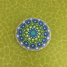 Mandala-Stein Karibik I