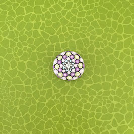 Mandala-Stein Pastell klein