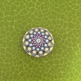 Mandala-Stein Pastell II