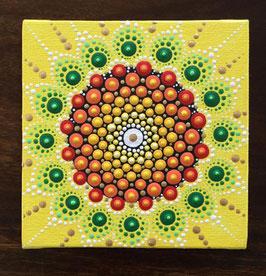 Mandala Sonnenblume 10cm