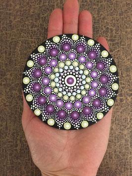 Mandala Flieder 10cm rund