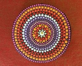 Mandala Magie des Orient 10cm rund