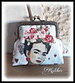 """Porte monnaie """" Frida vintage"""""""