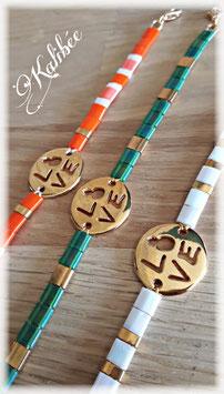 """Bracelets """" Love"""""""