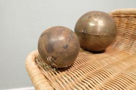 Set handgemaakte metalen bollen  |  19.913.O