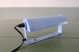Kleine lichtblauwe metalen wandlamp  |  19.1121.L