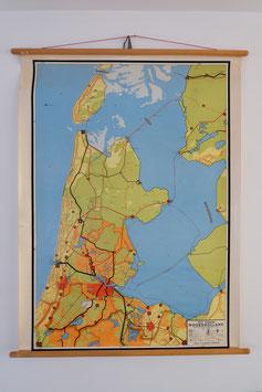 -ON HOLD- Schoolkaart Noord Holland  |  17.469.O
