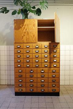 -SOLD- Oude ladekast met deuren  |  18.748.M