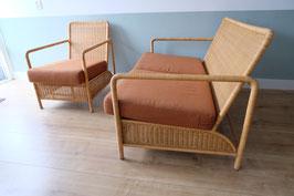 Vintage bank met fauteuil  |  19.930.M