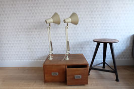 -ON HOLD- Set vintage SIS lampen  |  17.212.L