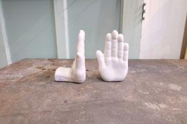 Keramische handen  |  17.496.O