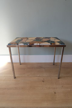 -ON HOLD- Sidetable met mozaïek blad  |  18.632.M
