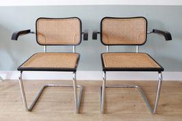 Marcel Breuer B64 stoelen set/2  |  18.662.M
