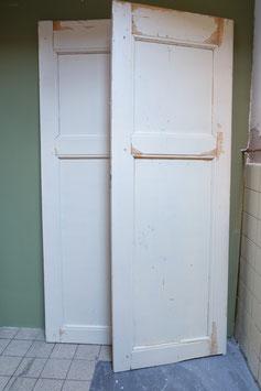 Oude paneel deuren