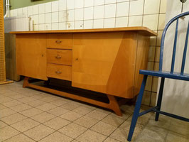 Vintage dressoir ronde kanten     19.934.M