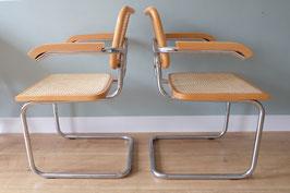 Marcel Breuer B64 stoelen set/2  |  18.630.M