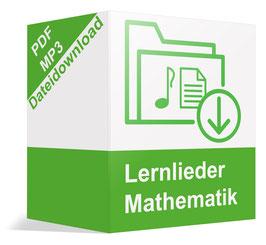 Downloadpaket mit 5 Lernliedern (Mathematik)