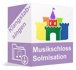 Downloadpaket: Solmisation - Klangstabsingen und das Musikschloss