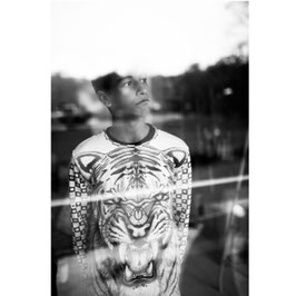 Designer Sweatshirt Tiger/Panther