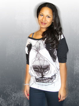 T-Shirt Panda Dolman