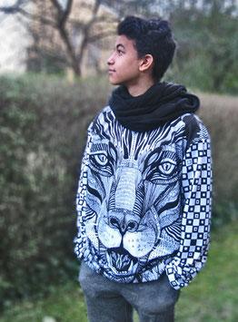 Designer Sweatshirt Panther