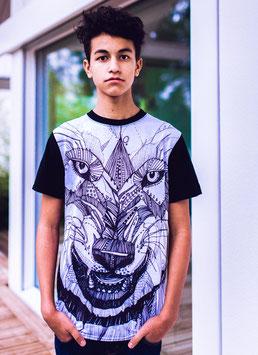 T-Shirt der Wolf