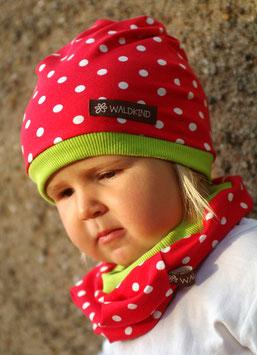 Jersey Mütze Erdbeere