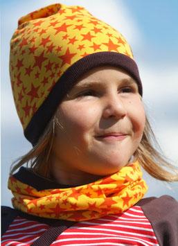 Jersey Mütze Sterne/Gelb