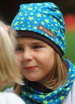 Jersey Mütze Sterne/Blau
