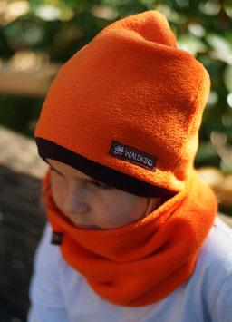 Mütze Polarfleece Orange