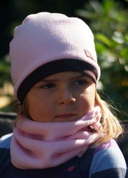Mütze Polarfleece Rosa