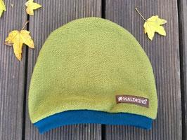 Mütze Polarfleece moosgrün