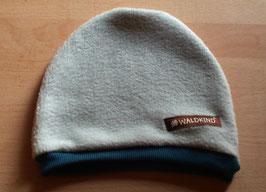 Mütze Polarfleece Silbergrau