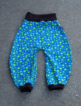 Jerseyhose Sterne Blau